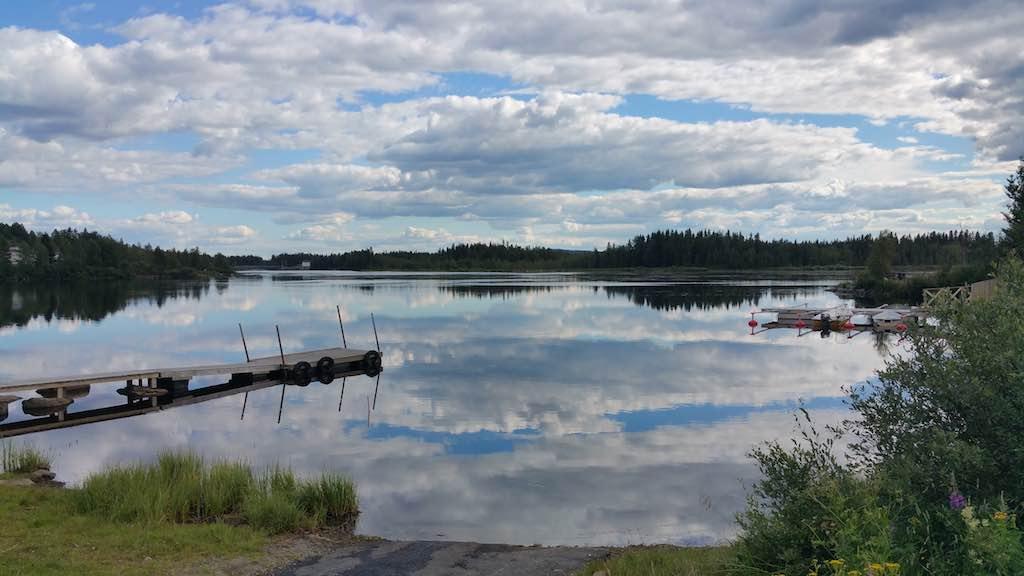 Vilhelmina, Sweden - Lake