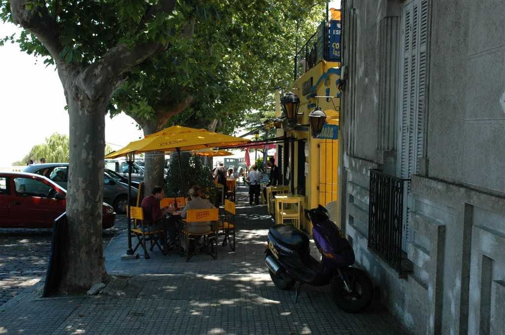 Colonia, Uruguay - Restaurant Row