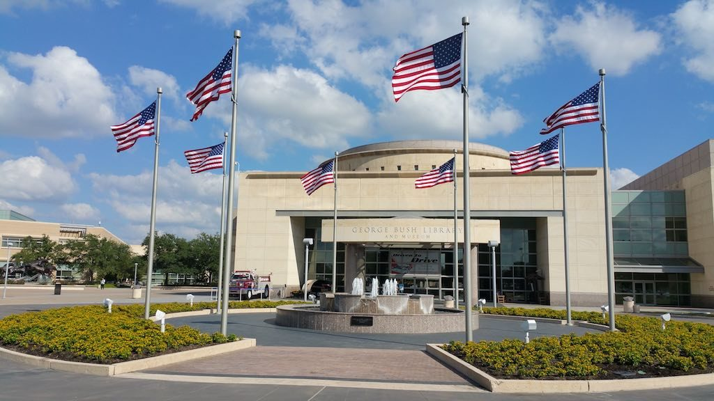 Bryan/College Station, Texas USA - George Bush Memorial Library & Museum