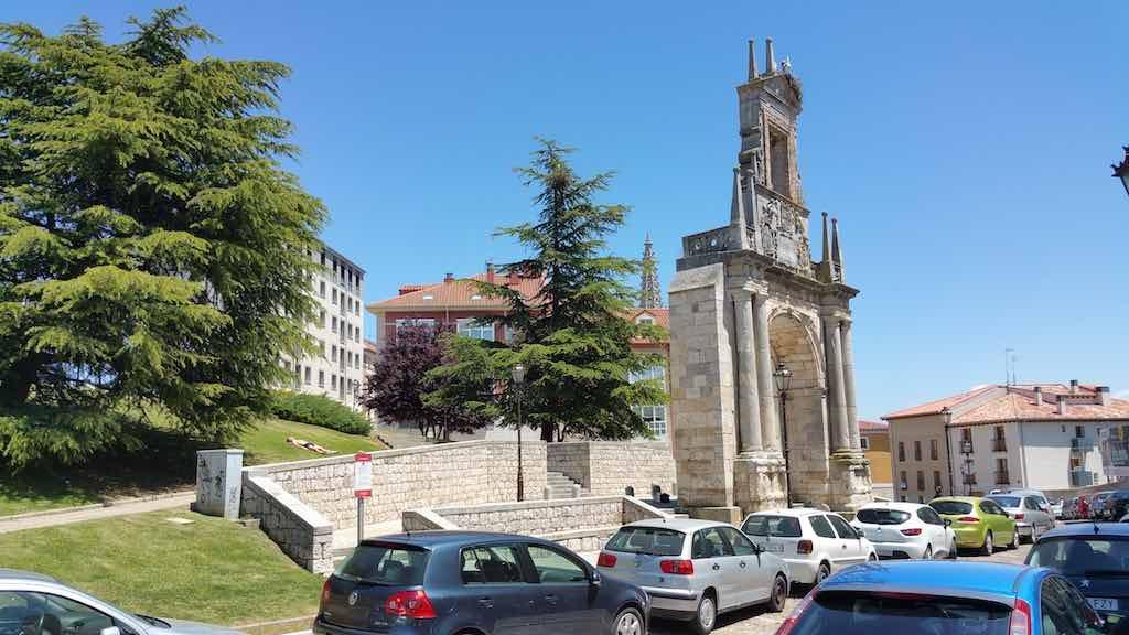 Burgos, Spain - Arch