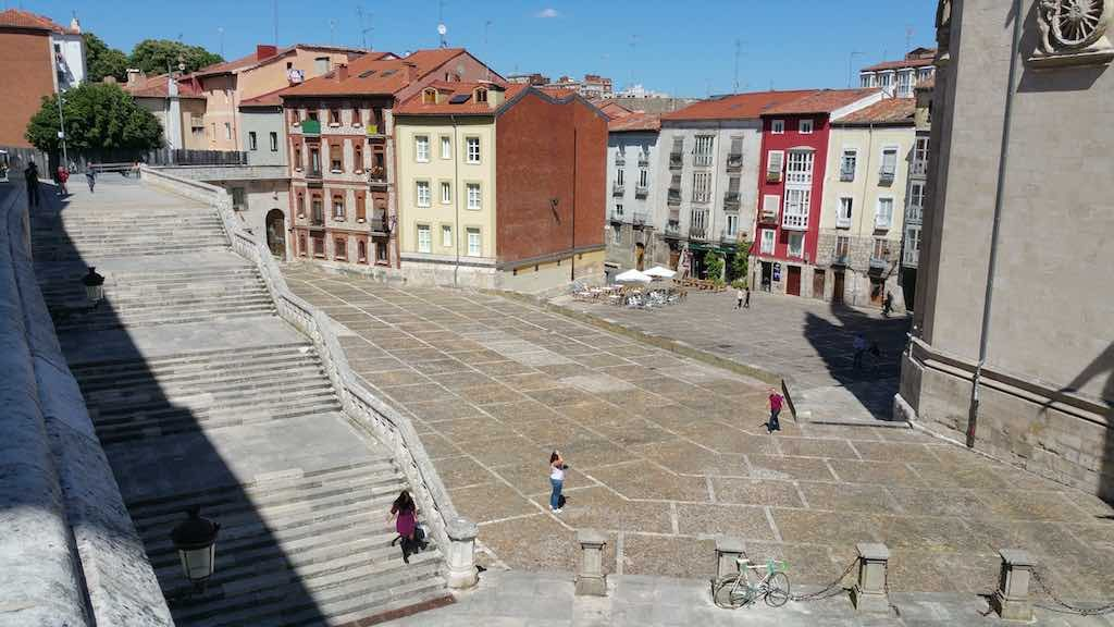 Burgos, Spain - Cathedral Square