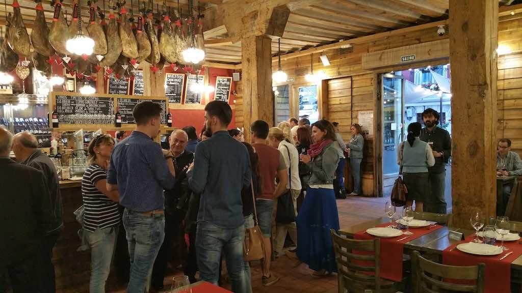 Burgos, Spain - Inside LaFavoli Restaurant