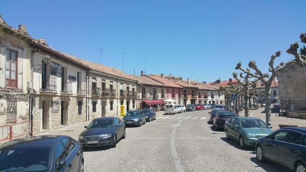 Burgos, Spain - Monastery Street