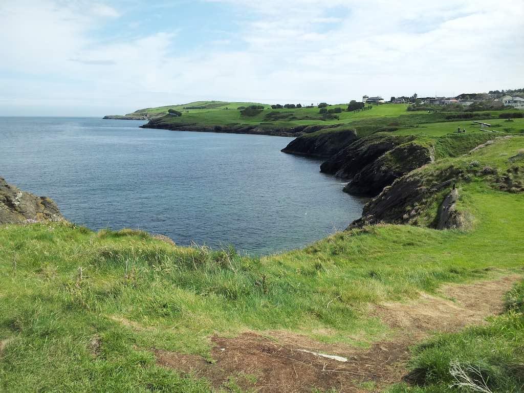 County Wicklow, Ireland Coastline