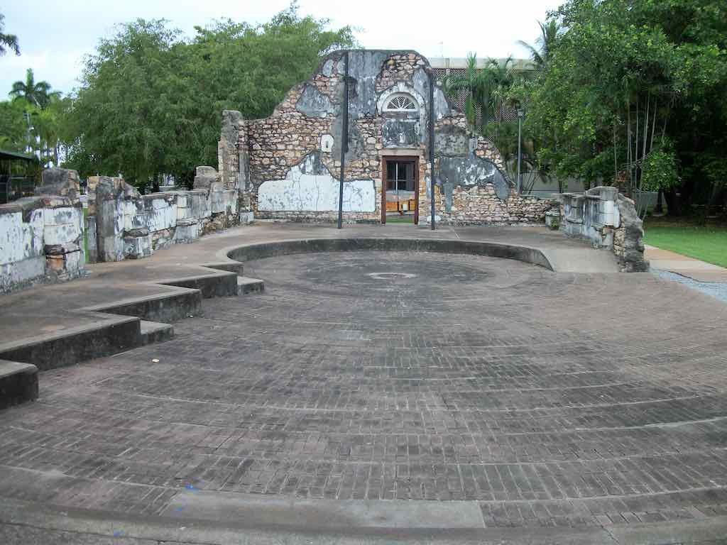 Darwin, Australia - Town Hall Ruins