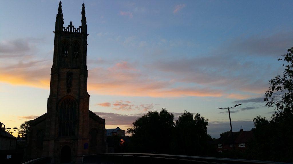 Derby, Derbyshire United Kingdom - St. Mary's Catholic Church