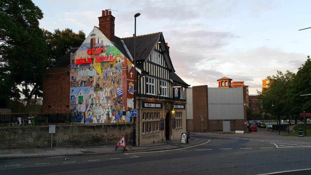 Derby, Derbyshire United Kingdom - The Silk Mill Ale & Cider house