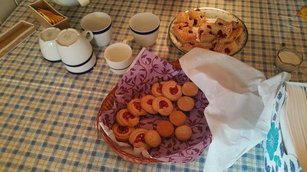 Fatmomakke, Sweden - Post Church tea