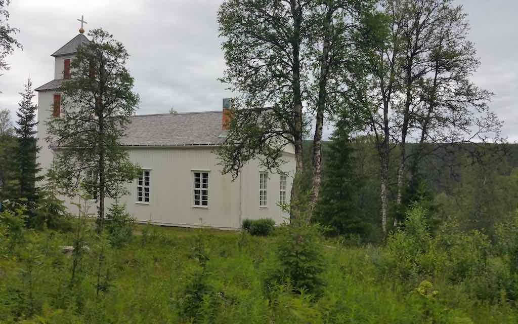 Fatmomakke, Sweden - Saami Village - Church
