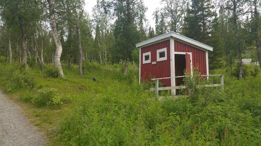 Fatmomakke, Sweden - Saami Village Outhouse