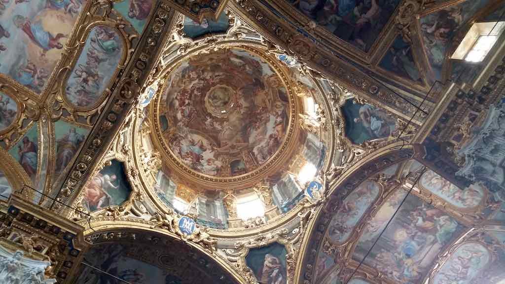Genoa, Italy - Basilica della Santissima Annunziata del Vastato