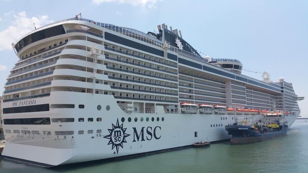 Genoa, Italy - MSC Fantasia