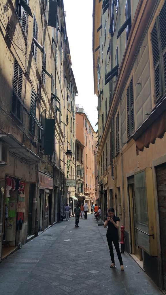 Genoa, Italy - Genoa Side streets