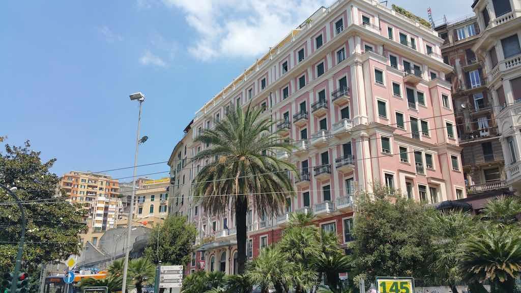 Genoa, Italy - Grand Hotel Savoia