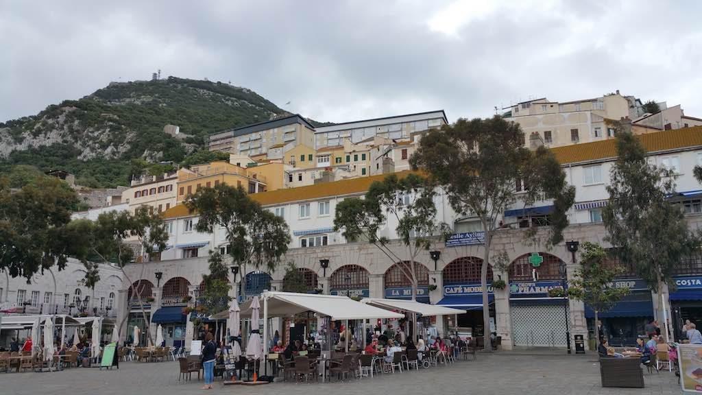 Gibraltar, United Kingdom - City Center