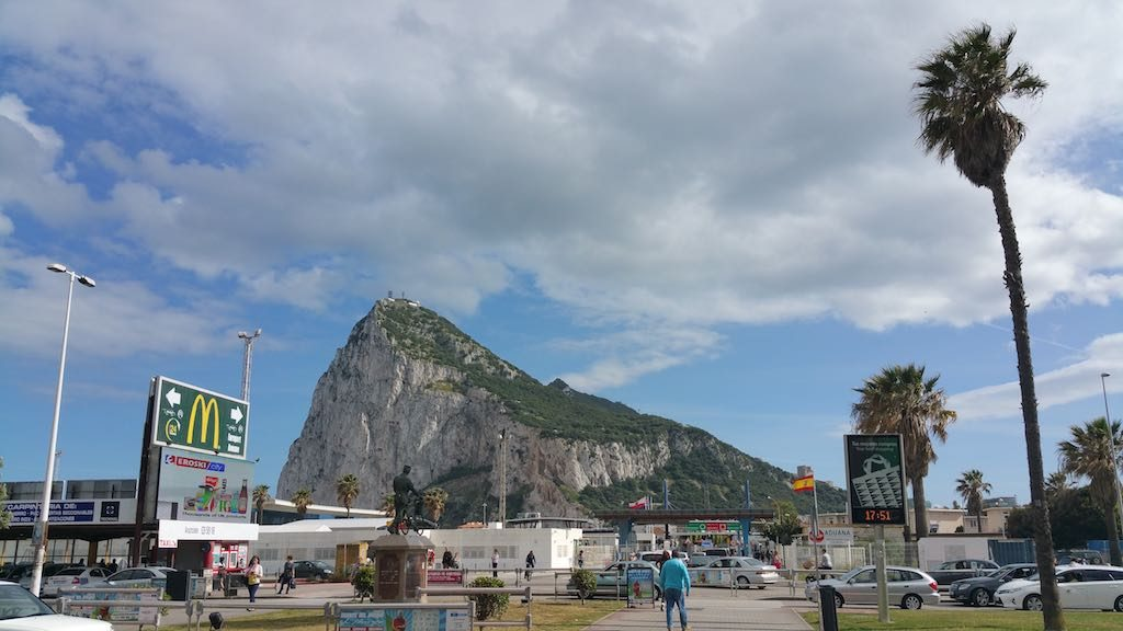 Gibraltar, United Kingdom - McDonalds at La Linea