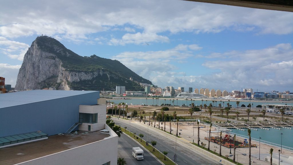 Gibraltar, United Kingdom - View from the room