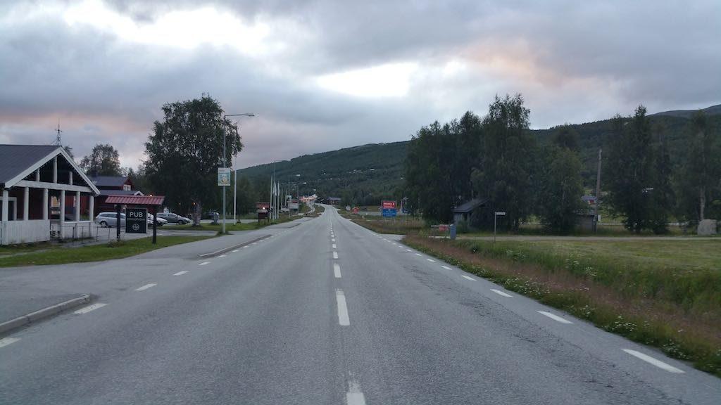 Hemavan, Sweden - Main Street
