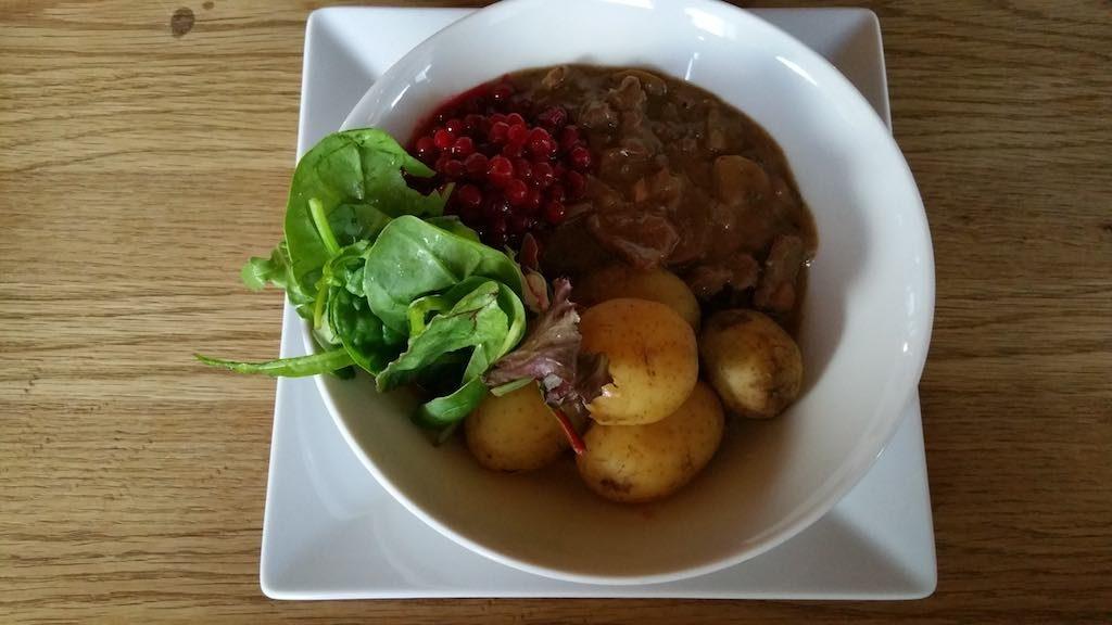 Hemavan, Sweden - Reindeer Dinner