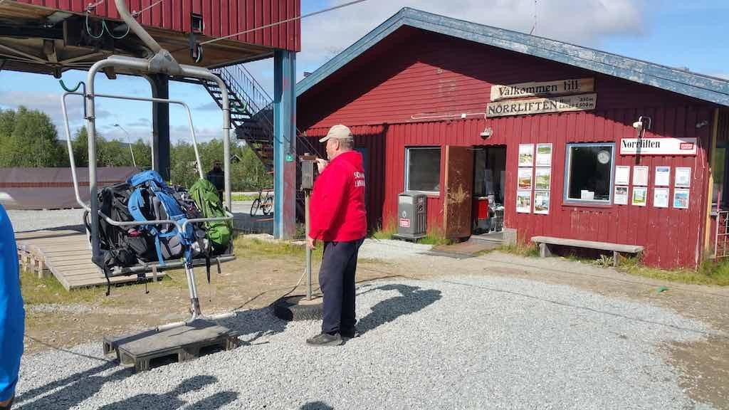 Hemavan, Sweden - Ski Lift