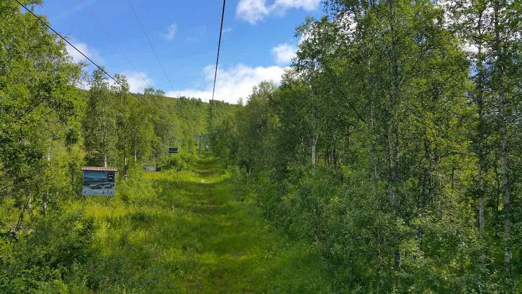Hemavan, Sweden - Ski Lift Area