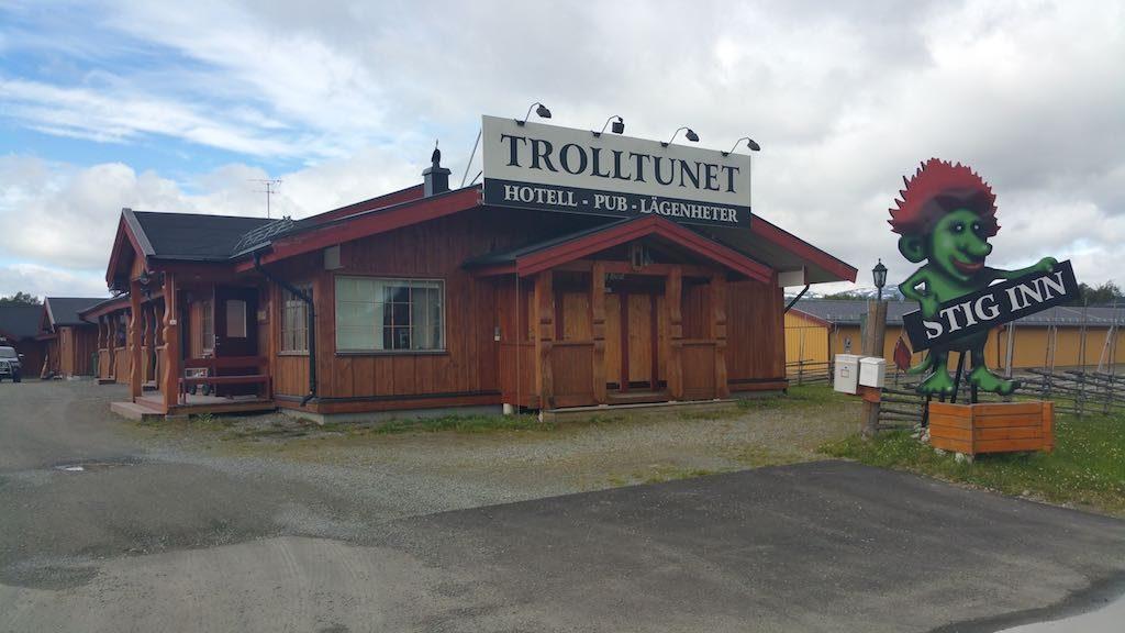 Hemavan, Sweden - Trolltunet Hotel