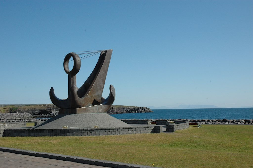 Keflavik, Iceland monument