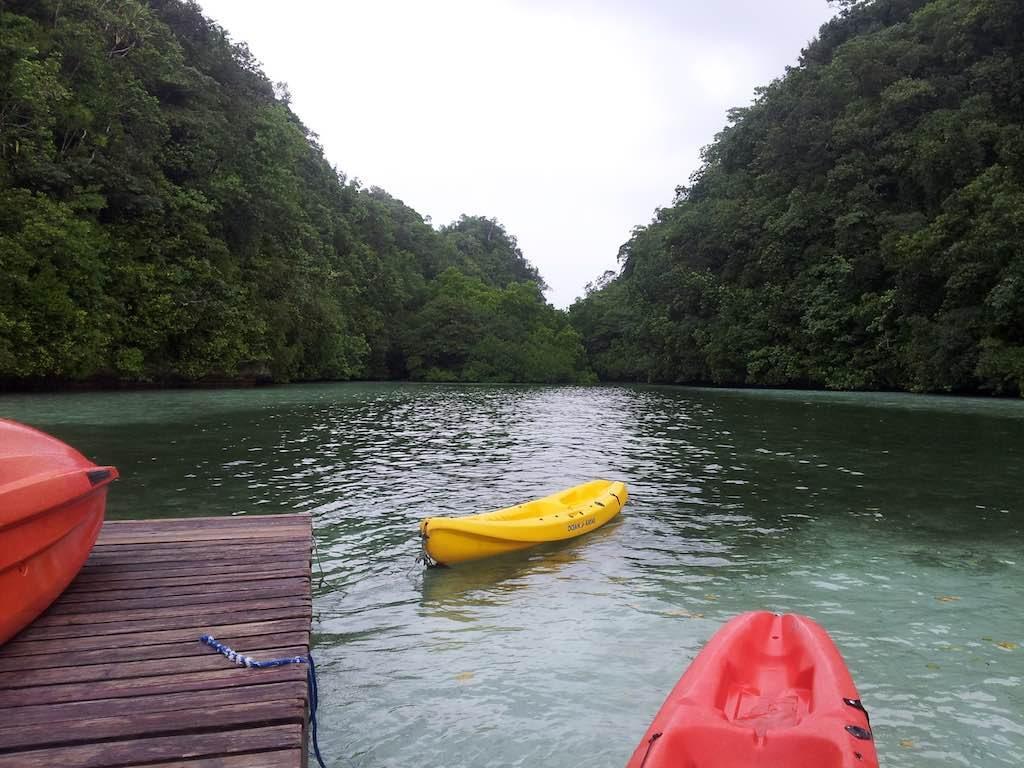 Koror, Palau - Kayaking