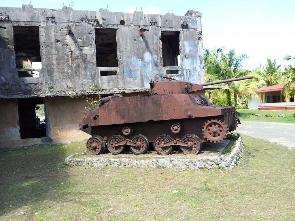 Koror, Republic of Palau - War Tank