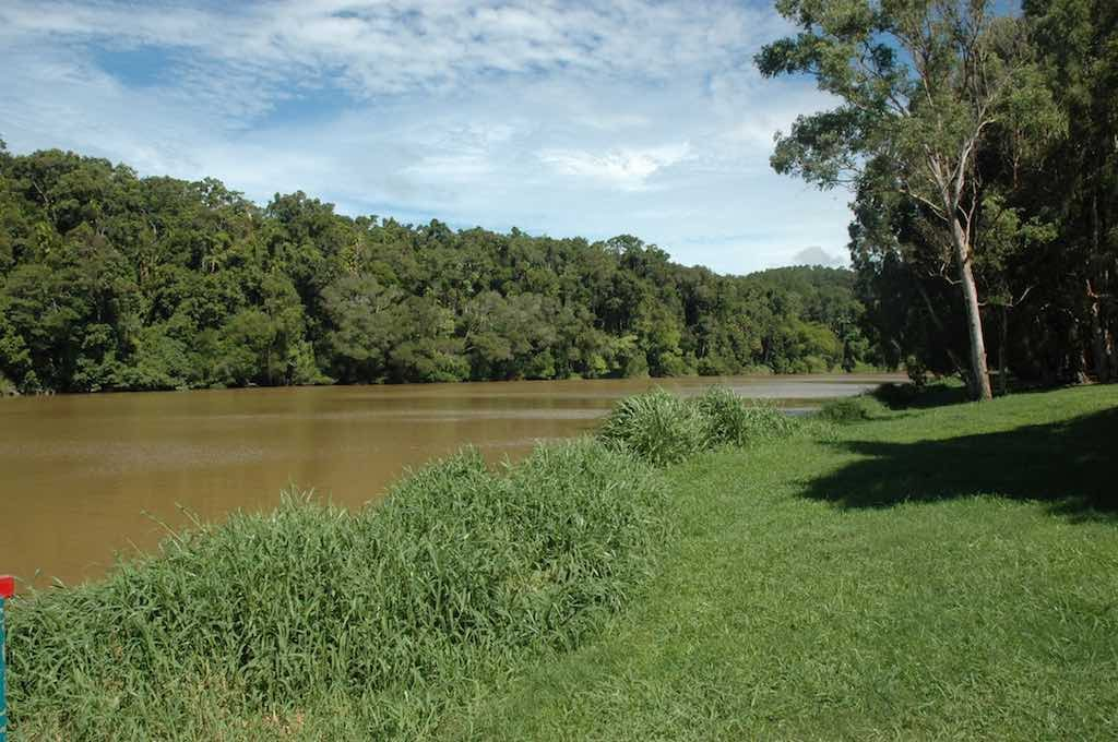 Kuranda, Queensland Australia - The Barron River at Kuranda