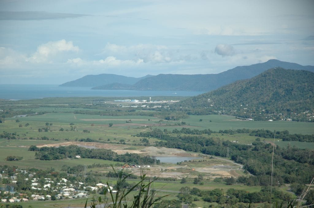 Kuranda, Queensland Australia - View of valley from train as I descend from Kuranda