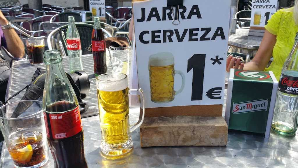 La Alberca, Spain - Cerveza