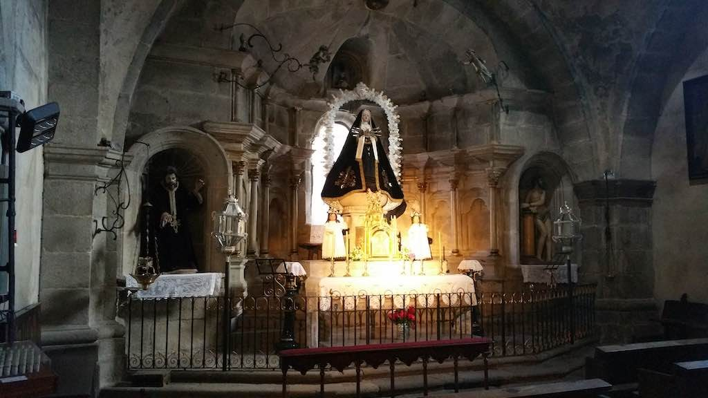 La Alberca, Spain - Church Altar