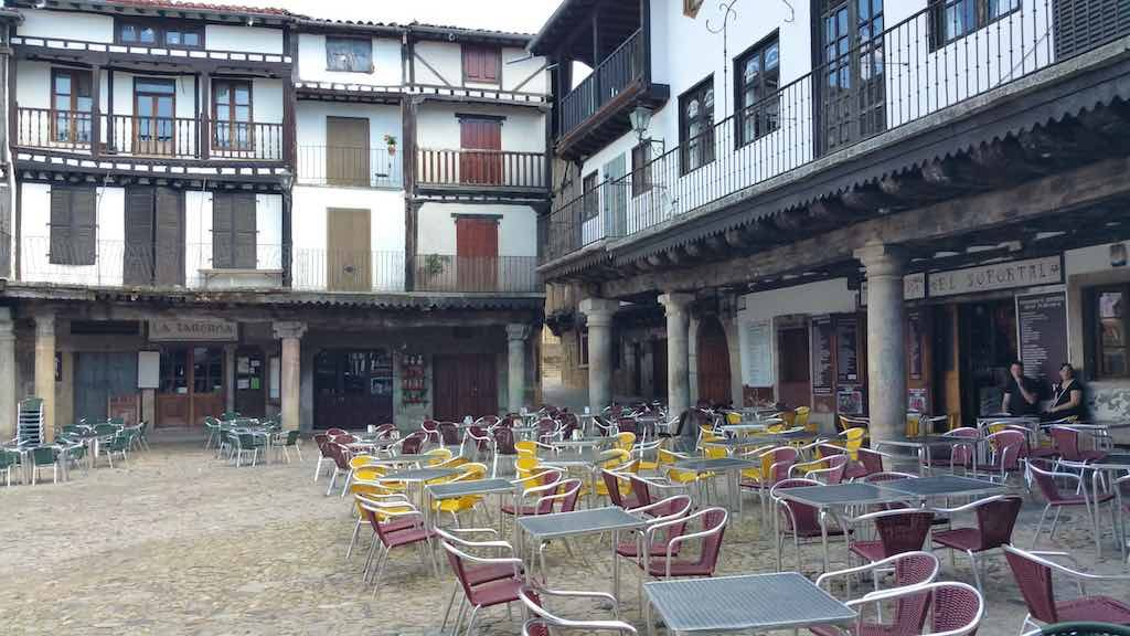 La Alberca, Spain - Plaza Mayor