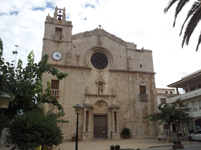 L'Escala, Costa Brava Spain - Church