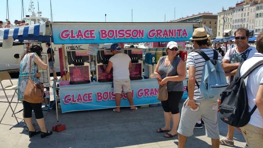 Marseilles, France - Food stall