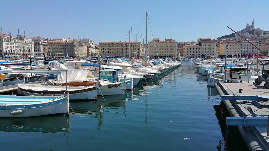 Marseilles, France - The Old Port Boats
