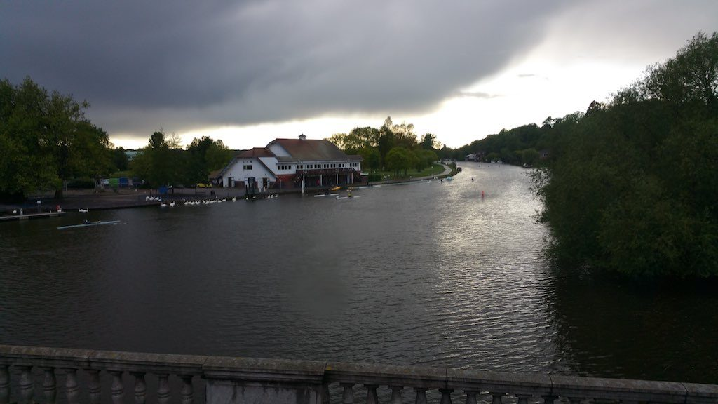 Reading, Berkshire United Kingdom - River Kennet Overcast