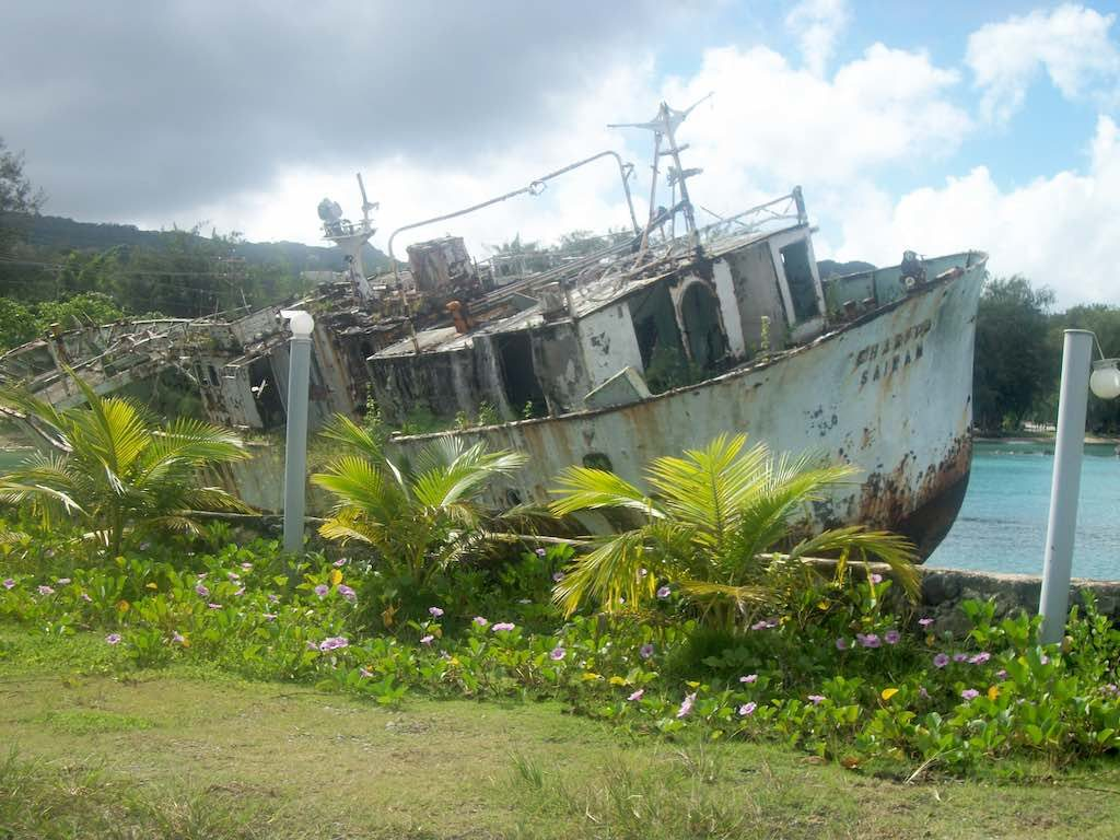 Saipan, Northern Mariana Islands - Old Saipan Ship