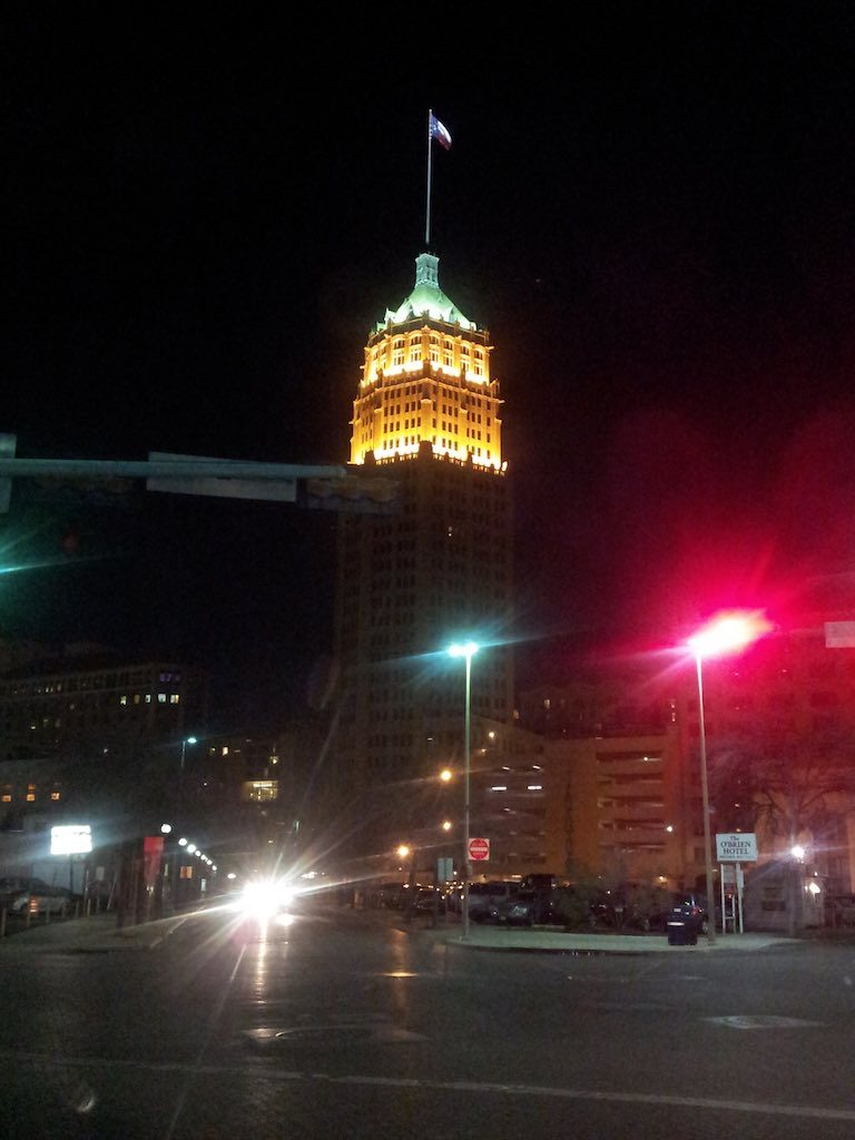 San Antonio, TX USA - Tower Life Building