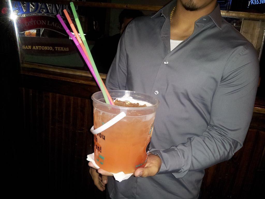 San Antonio, TX USA - Really large drink