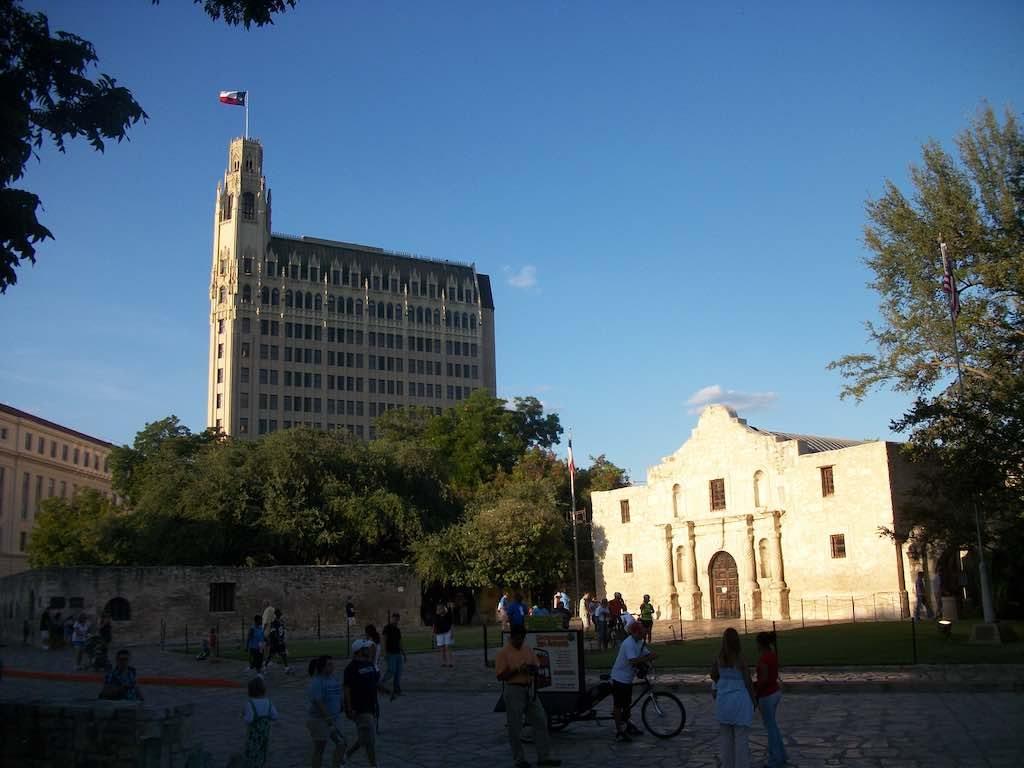 San Antonio, TX USA - The Alamo