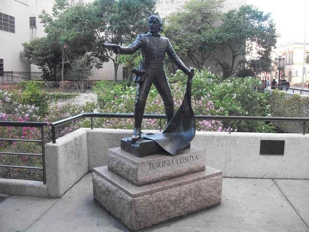 San Antonio, TX USA - Toribio Losoya, An unsung hero of the Alama