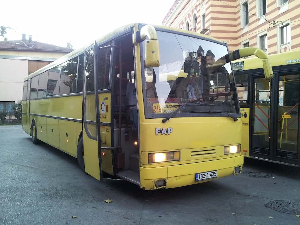 Sarajevo, Bosnia and Herzegovina - Local Bus