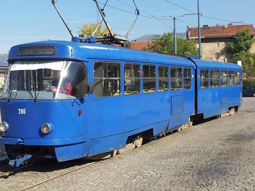 Sarajevo, Boznia and Herzegovina - Tram