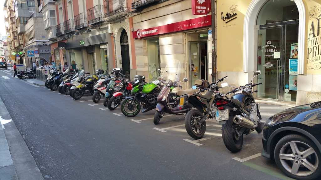 Valladolid, Spain - Motor bikes