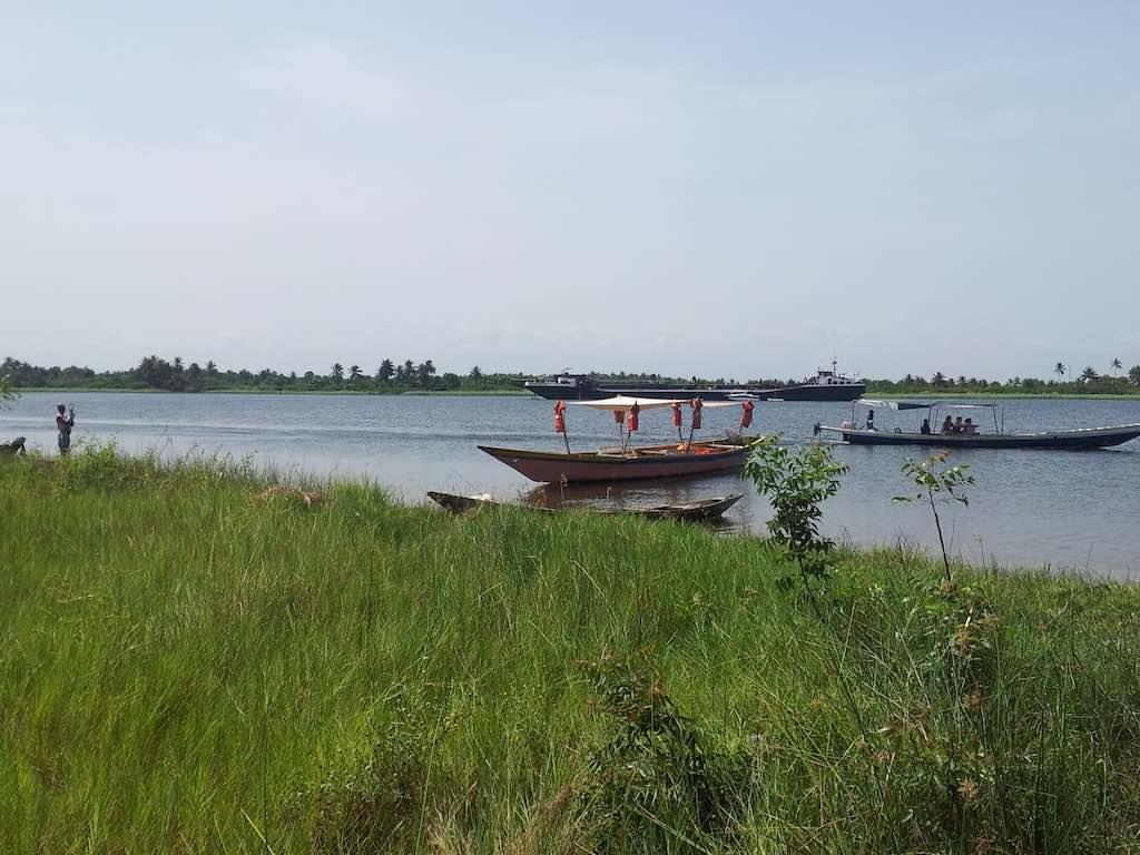Ada Foah, Ghana - Our Boat