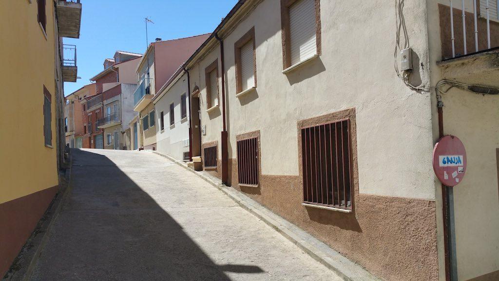 Alba de Tormes, Spain - Street