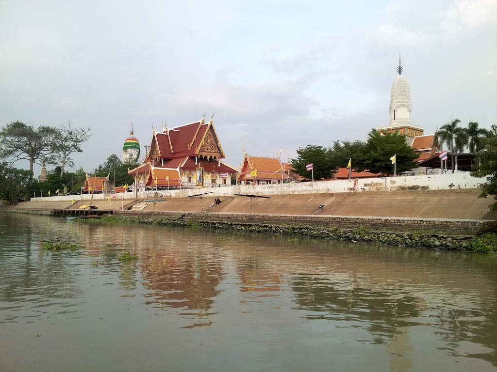 Ayutthaya, Thailand - Cruising along the river