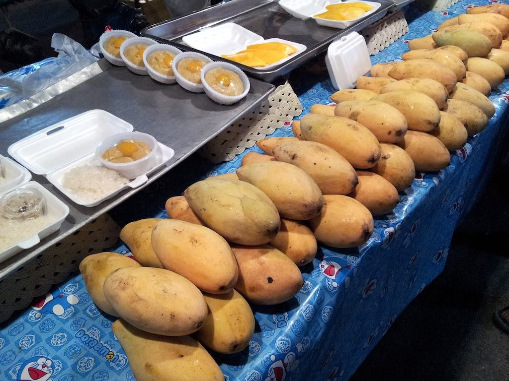 Ayutthaya, Thailand - Mangos at Night Market